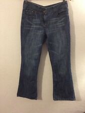 Denim Co Jeans Denim Trousers Boot cut Style Mid Blue Size 12  R3298