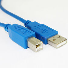 Cable Matters Hi-Speed USB 2.0 Type A to B Printer Scanner Cable in Blue 15 Feet