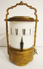 Rare Antique French Cylinder Candle Clock