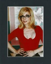 NINA HARTLEY ADULT PORN STAR LEGEND ORIGINAL HAND SIGNED MOUNTED AUTOGRAPH PHOTO