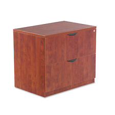 Valencia Series Two Drawer Lateral File, 34w x 22 3/4d x 29 1/2h, Medium Cherry