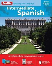 Intermediate Spanish (English and Spanish Edition), Berlitz, New Books