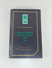 Owner's Manual / Betriebsanleitung Oldsmobile Cutlass Supreme / Salon / 442