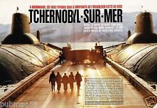 Coupure de Presse Clipping 1996 (4 pages) Mourmansk Tchernobyl sur mer