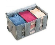 Quilts Blankets Pillows Clothing Sorting Storage Organizer Bag Box container 65L