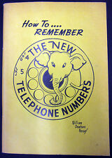 William Dearborn Hersey How To Remember The New Telephone Numbers (1965)