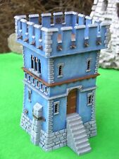 WARHAMMER SCENERY , WATCH TOWER PAINTED