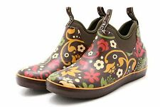 Bogs Womens Fashion Ankle Boots Size 6 M Multi-Color Rubber Mattie Corsage Rain