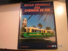 ** RGCF chemins de fer 06/93 Procédé anti bruit contre le TGV / 47e prix Schefer