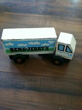 Vintage / Rare Montgomery Schoolhouse Ben And Jerry Wood Truck