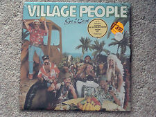The Village People Go West vinyl LP Record EX/NM! In the Navy open shrink
