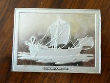 Franklin Mint Great Sailing Ships of History Sterling Ingot Roman Grain Ship