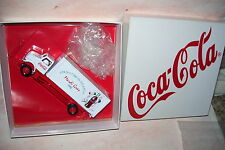 1996 Coca Cola Mardi Gras Atlanta  Diecast Delivery 10 Wheel Straight Van Truck