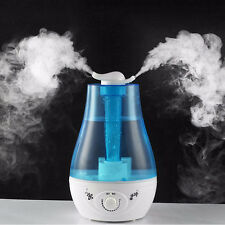 Ultrasonic Home Aroma Humidifier Air Diffuser Purifier Lonizer Atomizer Mist Hot