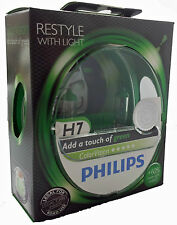 Philips H7 12V ColorVision Color Vision green PX26d +60% mehr Licht 12972CVPG