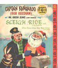 CAPTAIN KANGAROO/MR. GREEN JEANS CHILDREN'S PICTURE SLEEVE ONLY--PS--PIC---SLV