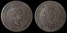 pci765) Napoli regno Ferdinando I grana 120 piastra 1818 TP UNCLEANED