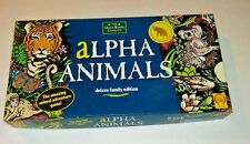 Alpha Animals by The Green Board Game Co. 1991 Complete Ages 8+