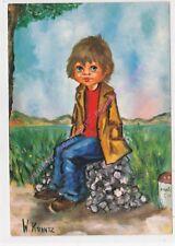 CP Illustrateur W.KRANTZ Mélancolie Serie n 358 Edt EDUG