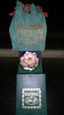 Secret Jewels by Rita G Lotus Blossom on Lily Pad Trinket Box New in Box