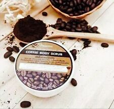 COFFEE BODY & FACE SCRUB Paradise 50g Reduce Cellulite & Acne No Chemical