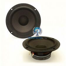 "PAIR OF FOCAL 6P211-S 6.5"" 120W RMS MIDRANGE DRIVER SPEAKERS MADE IN FRANCE NEW"