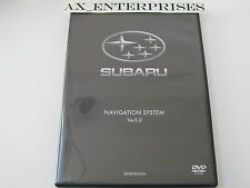 Subaru Legacy Outback B9 Tribeca Navigation DVD 3.0 WEST Map © 2007 Edition 2008