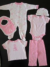 Baby Girl 6 pieces set, Size: 3-6 Months