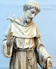 "BEAUTIFUL 14"" SAINT ST FRANCIS OF ASSISI STATUE - NIB"