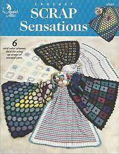 Scrap Sensations Afghans Crochet Instruction Patterns Annie's Attic 872813 NEW