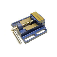 "Machine Vice for Pillar Drill Press / Hand Clamp 63mm (2-1/2"") Vise TE273"