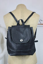 Coach leather back pack black vintage small