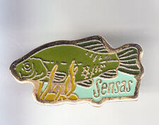 RARE PINS PIN'S .. SPORT PECHE FISHING POISSON SENSAS CANE APPATS CARPE FISH ~CQ