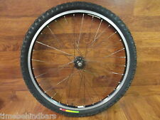 "BONTRAGER VALIANT DISC REAL HUB 26"" FRONT WHEEL WTB VELOCI RAPTOR 26 x 2.10 TIRE"