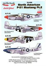 Lifelike Decals 1/72 NORTH AMERICAN P-51 MUSTANG Fighter Part 2