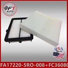 FA17220-5R0-008 FC36080 Engine & Cabin Air filter For 2015 2016 HONDA FIT