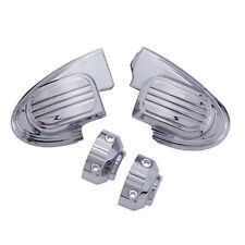 Ciro Chrome Master Cylinder Cover for Harley with Fairing Mounted Mirrors 70300