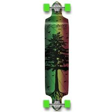 Yocaher Complete In The Pines Series Drop Down Longboard Rasta