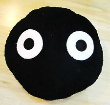 "US Seller Totoro Black Dust 14"" Pillow  #K-lon275"