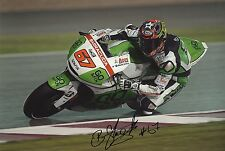 "Bryan staring main signé MOTO GP 2013 go & fun Honda Gresini photo 12x8 ""d"