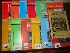 12+1  riviste Le Lingue del Mondo Valmartina Anno XXIX 1964 annata completa E3