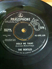 THE BEATLES 45 DPE 159 i saw her standing hold me rare SINGLE INDIA first press