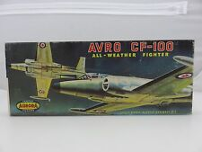 Aurora AVRO CF-100 FIGHTER Scale Plastic Model Kit 137-98 UNBUILT 1960