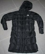 Women's THE NORTH FACE METROPOLIS PARKA 600 DOWN FILL COAT JACKET Black M NICE