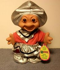 "Uneeda Wishnik 6"" TROLL w/Tag Orange Hair"