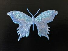 Sew on & iron on  patches(butterfly-light blue)
