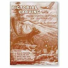 Pictorial Carving Book Al Stohlman Tandy Leather 66037-00