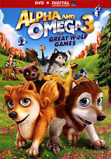 Alpha and Omega 3: The Great Wolf Games (DVD, 2015)