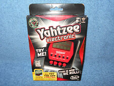 2012 YAHTZEE HANDHELD ELECTRONIC GAME RED & BLACK A2125 - BRAND NEW IN PACKAGE