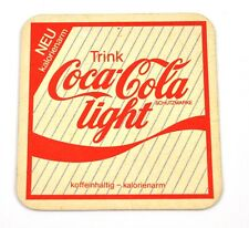 Coca-Cola light Coke Bierdeckel Untersetzer Coaster Germany